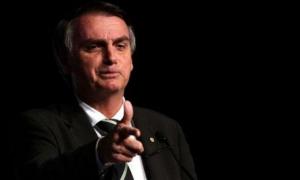 Jair Bolsonaro lidera los sondeos para la segunda vuelta presidencial con el 58 %.
