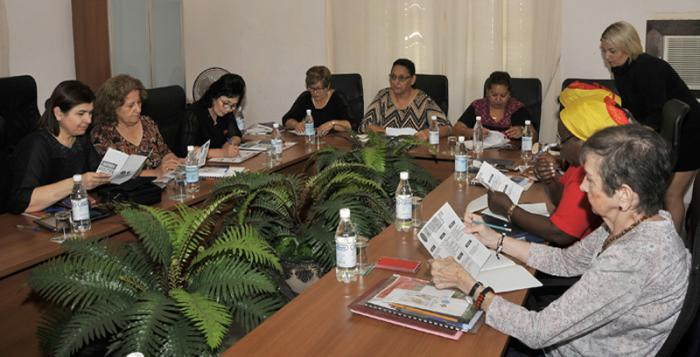 A multinational event of the International Democratic Federation of Women  met in Havana