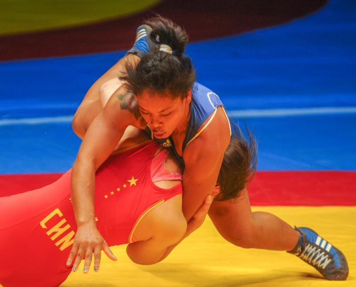 Yudari Sánchez: primera campeona mundial cubana de la Lucha para damas