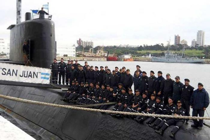 Hallado submarino argentino Ara San Juan