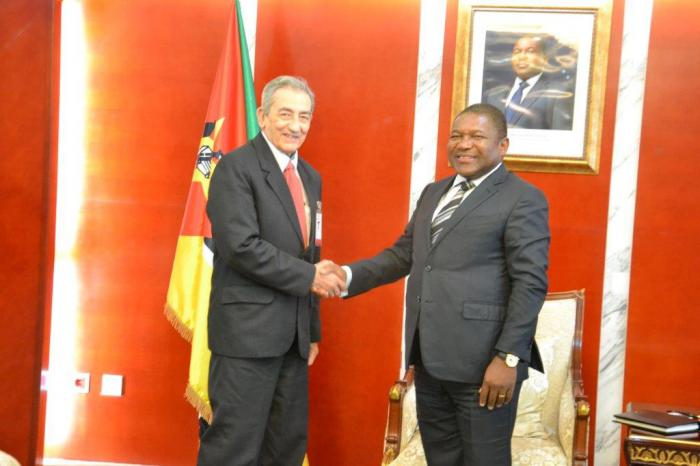 President of Mozambique receives Cuban Communist party delegation