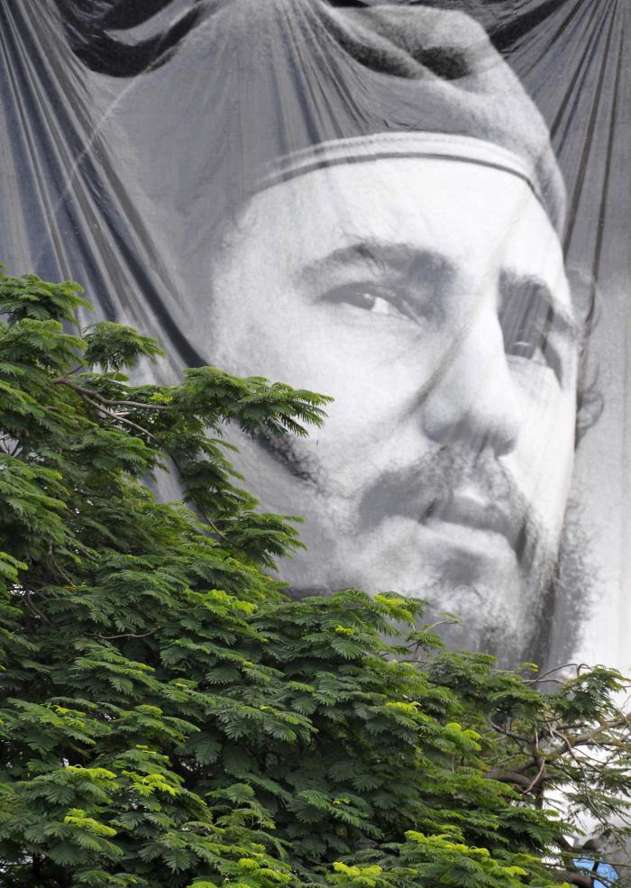 La Habana el domingo 27 de noviembre, dos días después de conocerce la noticia de la muerte del Comandante en Jefe Fidel Castro Ruz.