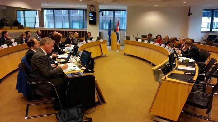 Cuba and EU discuss unilateral coercive measures