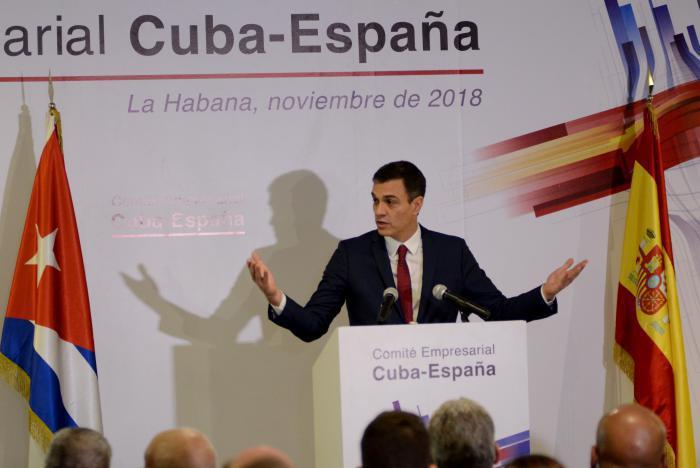 Presidentes de Cuba y España inauguran foro empresarial en La Habana