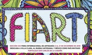 Arte, utilidad y oficio para FIART 2018
