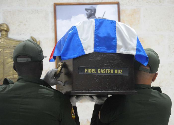 Cortejo funebre del Comandante en Jefe Fidel Castro Ruz. CAMAGUEY