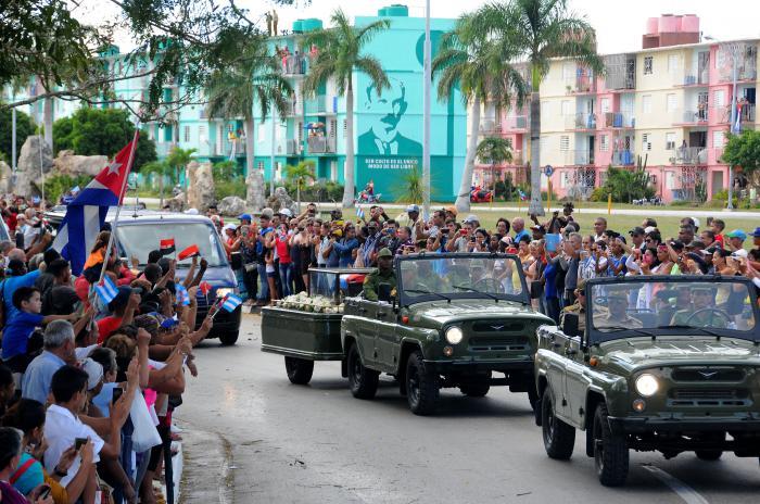 Cortejo funebre del Comandante en Jefe Fidel Castro Ruz. CAMAGUEY FLORIDA