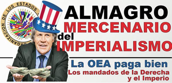 Almagro y secuaces conspiran otra vez contra Cuba