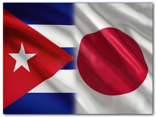 Recibe Cabrisas al Presidente de la Liga Parlamentaria de Amistad Japón-Cuba