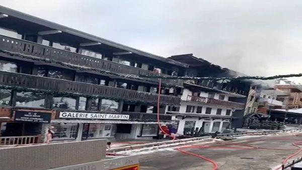 Incendio en estación de esquí Courchevel, en Francia, deja dos fallecidos