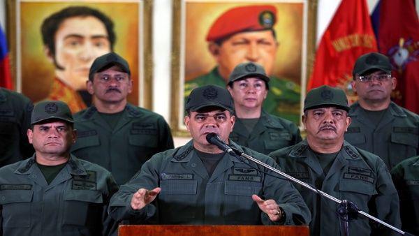 Neutralizan ataque a instalaciones militares en Caracas