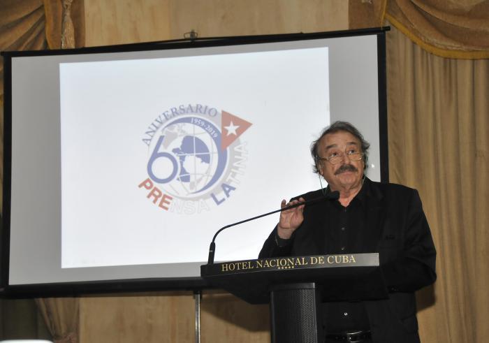 Ramonet diserta en Cuba sobre crisis de credibilidad en mundo de la información