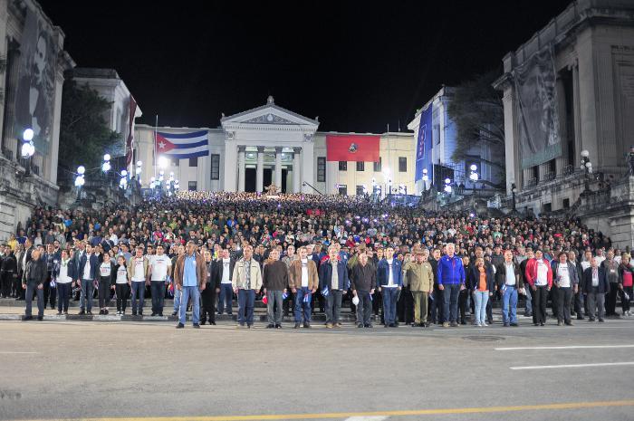 Cuba: con luz martiana, la generación de la continuidad junto a la histórica (+ Fotos)
