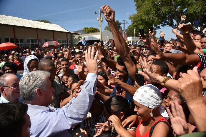 Reconoció Díaz-Canel esfuerzos e iniciativas en Santiago de Cuba durante visita gubernamental