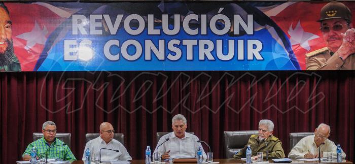 Convoca Díaz-Canel  a elevar la calidad en obras constructivas