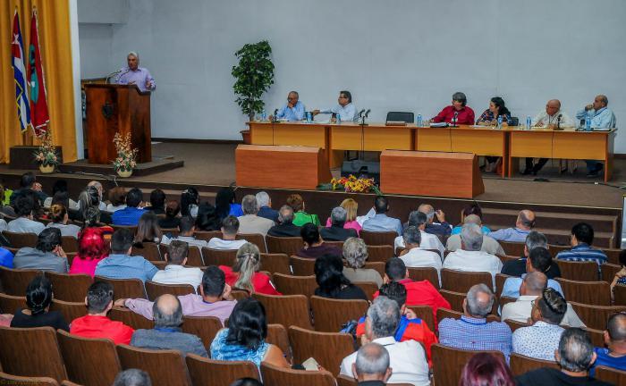 Presidió Díaz-Canel balance anual del ICRT