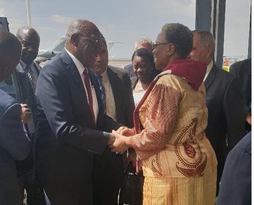 Inicia visita oficial a Namibia Salvador Valdés Mesa