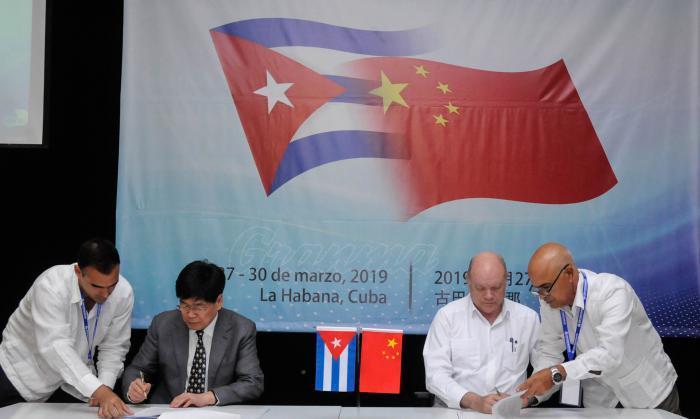 Establecen Cuba y China acuerdos en el área de la Biotecnología