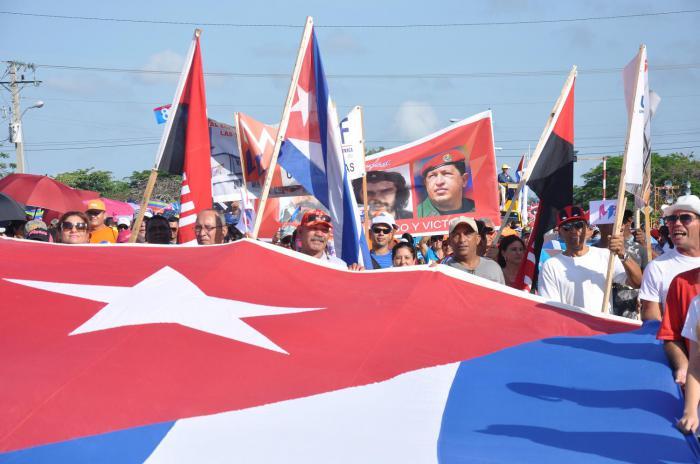 Ulises Guilarte, máximo líder sindical, convocó al Primero de Mayo, exactamente a un mes de la fiesta del proletariado mundial.