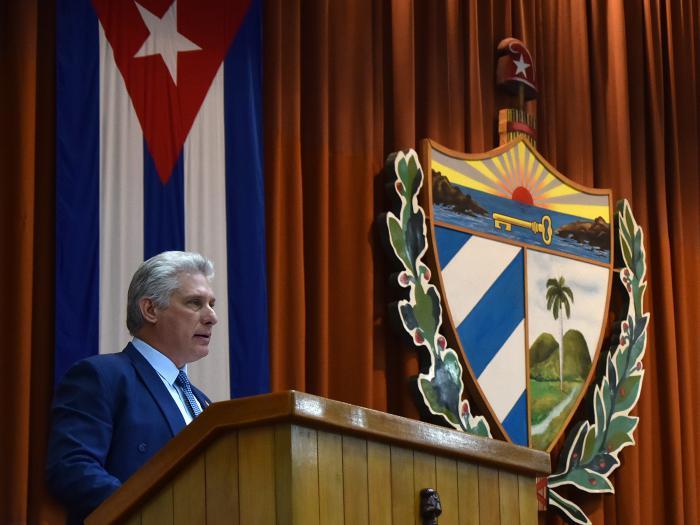 Miguel Díaz-Canel clausura tercera sesión extraordinaria del Parlamento en su IX Legislatura.