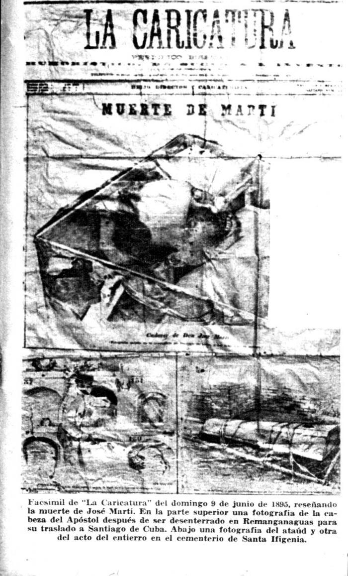 Cuatro versiones sobre la muerte de José Martí