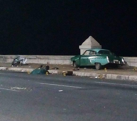 Three dead in car accident in Havana