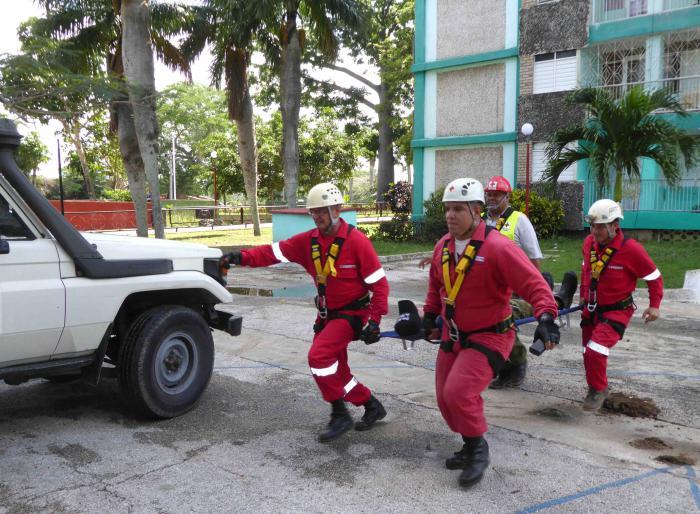 Provechoso en Cuba ejercicio popular para enfrentar desastres