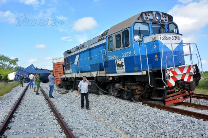 Reportan accidente ferroviario en línea Mariel-Habana