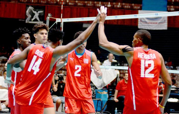 Cubanos competirán en grupo A del Voleibol panamericano en Lima 2019