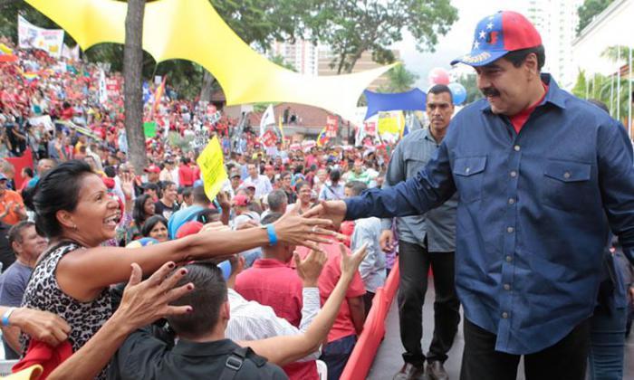 Nicolás Maduro es el presidente legítimo y constitucional elegido y reconocido por su pueblo.