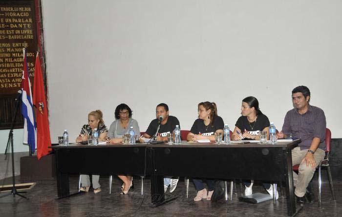 Reconocen protagonismo de la juventud comunista cubana en actual batalla ideológica y económica
