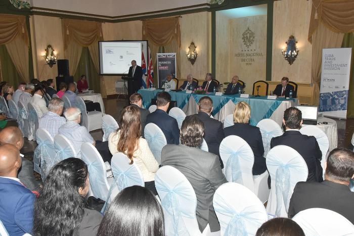Presidente cubano asistió a Foro de Negocios Cuba-Reino Unido
