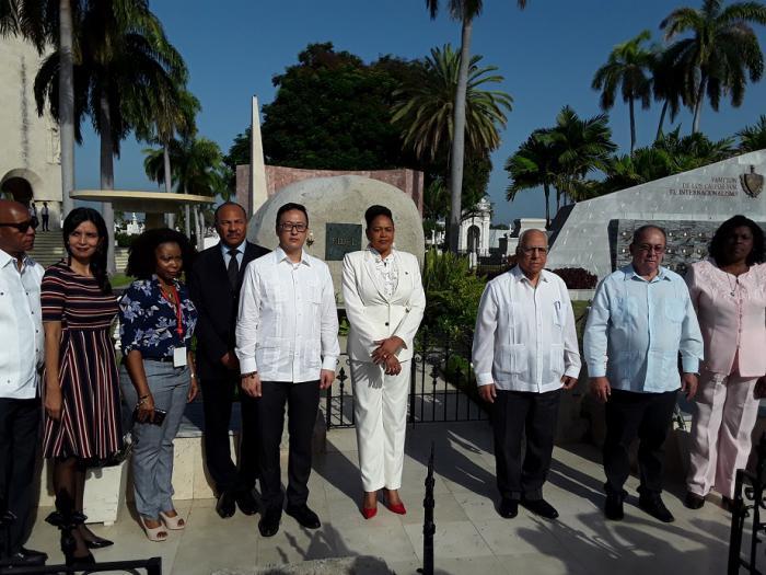 Homenaje a Fidel Castro y José Martí desde ExpoCaribe