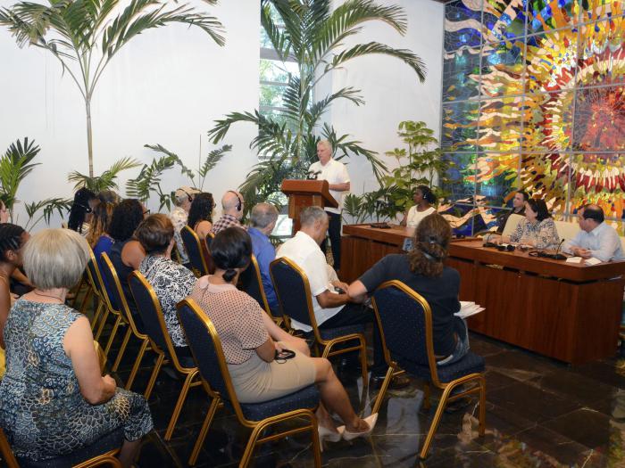 Díaz-Canel recibió a la Caravana de la Amistad Estados Unidos-Cuba (+Fotos)