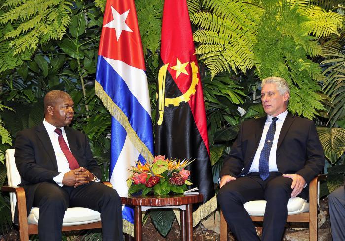 Recibió Díaz-Canel al Presidente de Angola II