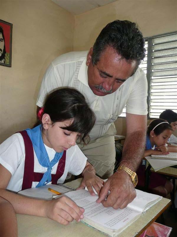 La cobertura docente es un tema siempre presente entre las prioridades del Ministerio de Educación. foto: Freddy Pérez Cabrera