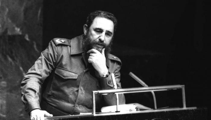 Fidel representó al Movimiento de Países No Alineados en varios escenarios internacionales. Cuba obstentó la presidencia pro témpore, del Mnoal de 1979 a 1983 y de 2006 a 2009. foto: joaquín viñas