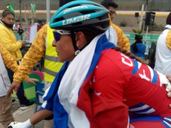 Arlenis Sierra, una guerrera de oro en la ruta del ciclismo en Lima 2019