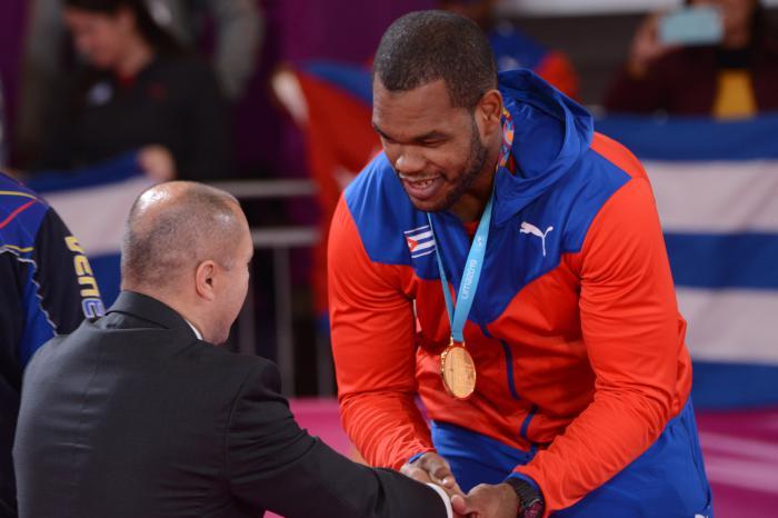 Andy Granada, con su título, afianzó a Cuba en el quinto puesto del cuadro general de medallas.