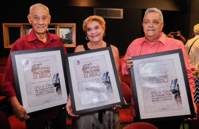Entregan Premio Nacional de Radio 2019 (+ Fotos)