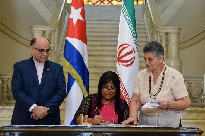 Cuba e Irán celebran cuatro décadas de restablecimiento de vínculos diplomáticos
