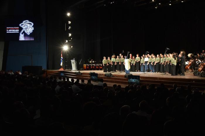 Tributo musical al Comandante de la Revolución cubana Juan Almeida