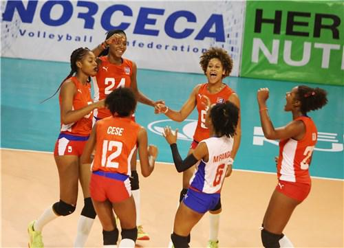 Primera victoria de Cuba en Campeonato NORCECA de Voleibol (f)