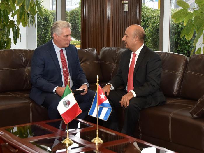 Consolidan Cuba y México su hermandad durante visita de Díaz-Canel al país azteca