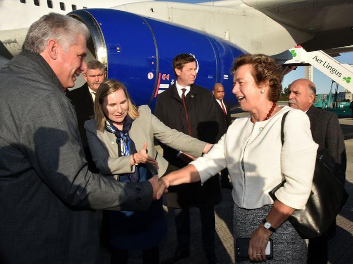 Cuba e Irlanda fortalecerán relaciones, afirma Díaz-Canel (+ Tuit)