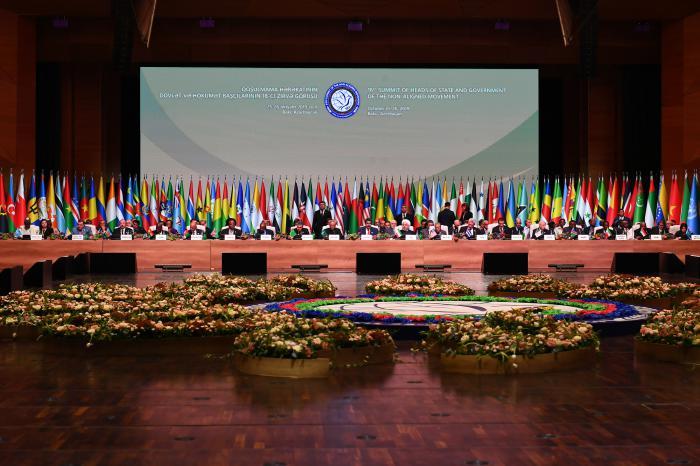 Cumbre de MNOAL cierra con voto por el multilateralismo y contra sanciones