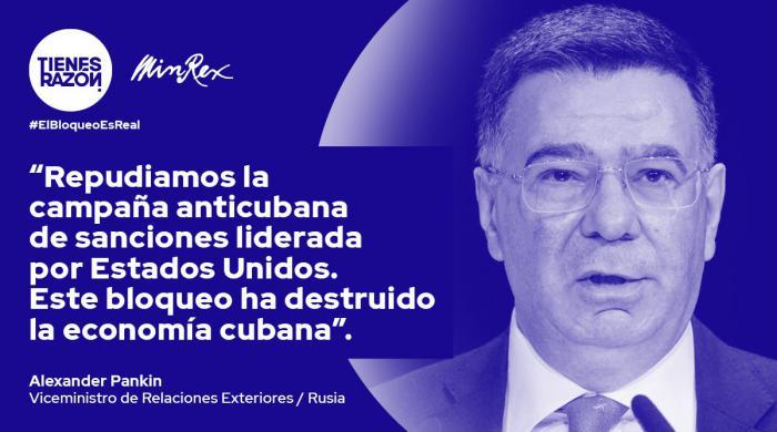 Califican en la ONU al bloqueo como genocidio contra los cubanos