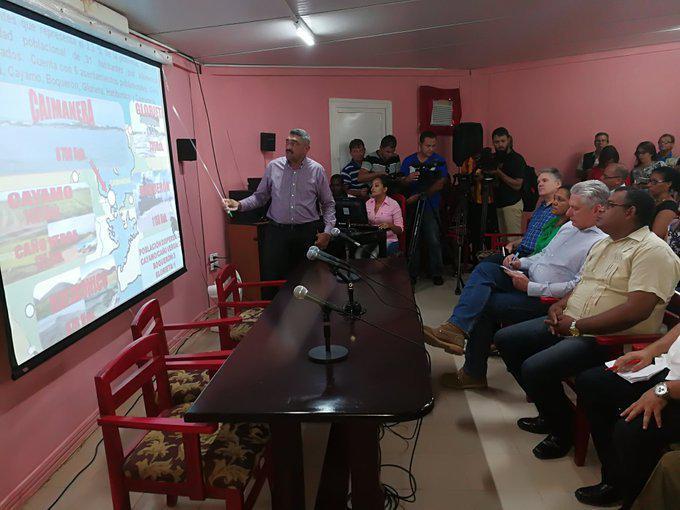 Preside Díaz-Canel visita gubernamental a la provincia de Guantánamo (+ Foto y Tuit)
