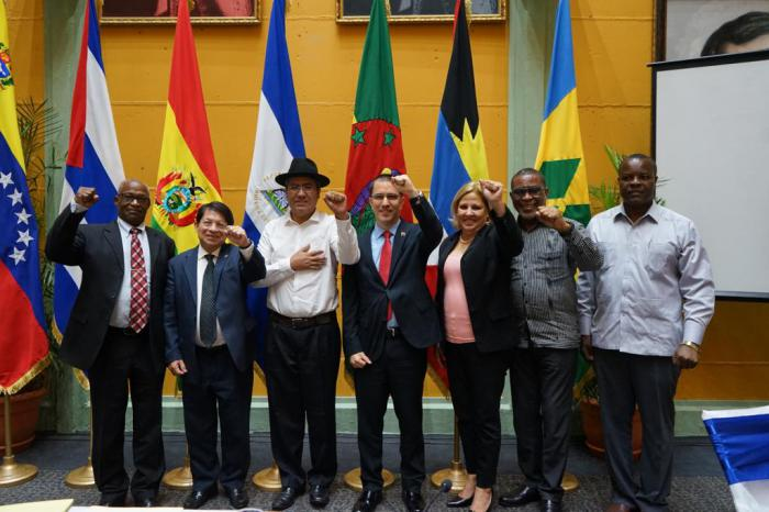Political Council of ALBA-TCP strongly condemns coup d'etat in Bolivia