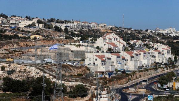 Una vista general del asentamiento judío de Kiryat Arba en Hebrón, en Cisjordania ocupada.